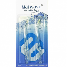 Matwave Матваве - Комплект пародонтологических насадок для ирригатора Matwave Clean Pro V-20 (2 шт.)