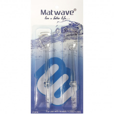 Matwave Матваве - Комплект насадок для чистки языка для ирригатора Matwave Clean Pro V-20 (2 шт.)