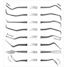 Набор для снятия зубных отложений 8 инстр.(1506,1702,1703,1704,1705,1707,1708,1709) 1700 FABRI ФАБРИ