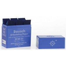 Артикуляционная бумага - BK-01 и ВК-02 артикуляционная бумага BAUSCH