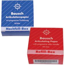 Артикуляционная бумага - BK-1001 и ВК-1002 артикуляционная бумага BAUSCH