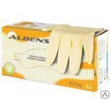 Перчатки стоматологические без пудры ALBENS 111158
