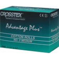 Валики ватные 2000 шт. Crosstex (Кростекс)