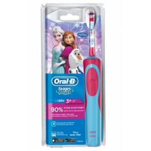 Электрическая зубная щетка для детей Oral B Stages Power Frozen Холодное сердце, Орал би Стэйджес Пауэр