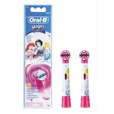 Электрические зубные щетки Oral-B - Комплект насадок для электрической зубной щетки для детей Oral B Stages Kids Принцессы (2 шт.)