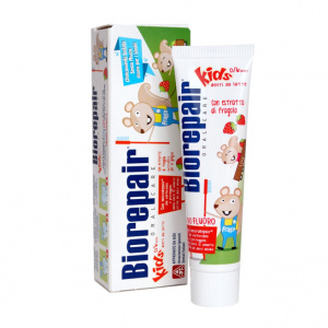 Детская зубная паста Биорепейр Biorepair Kids Strawberry