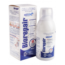 Ополаскиватели Biorepair - Ополаскиватель Biorepair антибактериальный 4 действия, 500 мл