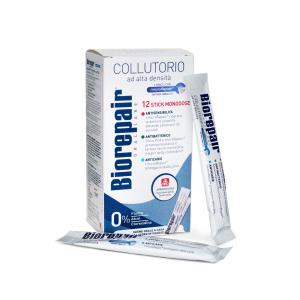 Ополаскиватель для полости рта Biorepair 4-action mouthwash , 12 стикеров по 12 мл