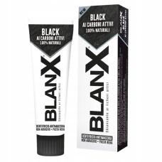 Зубные пасты Biorepair - Отбеливающая зубная паста BlanX Black Charcoal с активным древесным углем, 75 мл