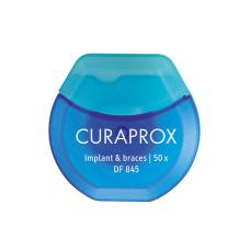 "Соски, скребки, ершики Curaprox  - Нить Curaprox ""Implant & Braces"" DF 845, 50 шт"