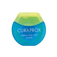 """Соски, скребки, ершики Curaprox  - Межзубная нить """"implant-saver"""" эластичная из микроволокна Curaprox DF846, 30 шт"""
