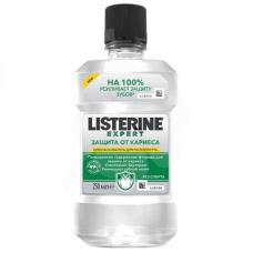 """Ополаскиватели Listerine  - Ополаскиватель Listerine ЭКСПЕРТ (Листерин) """"Защита от кариеса"""", 250 мл"""