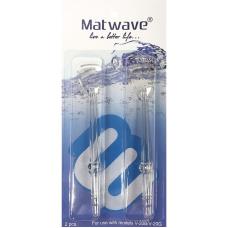 Ирригаторы - Комплект насадок для чистки языка для ирригатора Matwave Clean Pro V-20 (2 шт.)