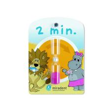 Детский ассортимент  - Песочные часы на присоске Miradent Timer