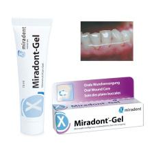 Лечебные и профилактические средства  - Miradont-Gel гель с питательными элементами для лечения заболеваний полости рта Miradent, 15 мл