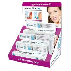 mirasensitive hap+ - зубная паста для чувствительных зубов, 8 шт. на стенде 112393
