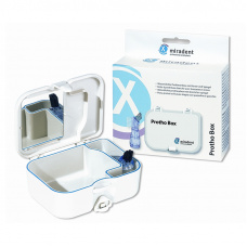 Лечебные и профилактические средства  - Protho Box футляр для хранения протезов, с щеткой и зеркалом