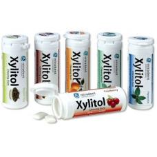 Детские зубные пасты и гели - Жевательная резинка Miradent Xylitol Chewing Gum