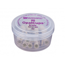 Cиликоновые полировочные чашечки Opal Сups bristle, в упаковке 20 шт 112064