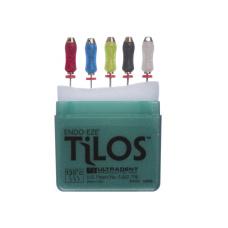 TiLOS Apical file Kit LONG L 31 мм, №№ 25-45 - Набор длинных апикальных файлов (5шт. в уп.) 112123