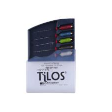 TiLOS Apical file Kit MEDIUM L 27 мм, №№ 25-45 - Набор средних апикальных файлов (5шт. в уп.) 112124