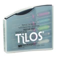 TiLOS Apical file Kit MEDIUM L 27 мм, №№ 25-45 - Набор средних апикальных файлов (5шт. в уп.) 112124 фото 1