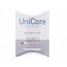Эндодонтические инструменты Ultradent - UniCore Drill Size 1 (0.8 mm) - дриль для штифтов. Размер 1