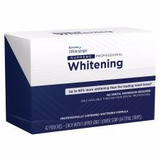 Домашнее отбеливание зубов - Отбеливающие полоски Crest Whitestrips Supreme Professional (84 шт)