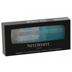 Nite White отбеливание ночной набор 16% ACP Mini Kit (3 шприца), Philips