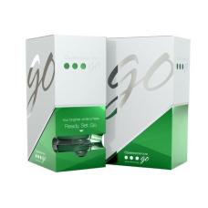 Домашнее отбеливание зубов - Гель для отбеливания зубов в готовых капах со вкусом мяты - Opalescence Go 6 % HP Mint-6% (4 блистера)