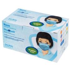 Одноразовые расходные материалы - Маски защитные медицинские DISPOLAND (50 шт/уп)