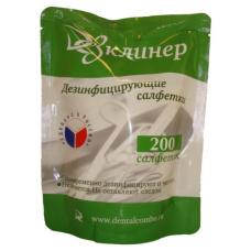 Дезинфицирующие салфетки - Салфетки дезинфицирующие Дезклинер в запасных блоках