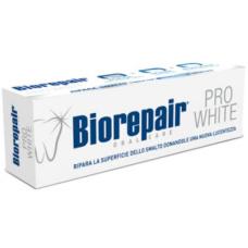 Гигиена полости рта - Biorepair pro white. Зубная паста для поддержания белизны эмали