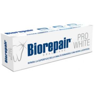 Biorepair pro white. Зубная паста для поддержания белизны эмали