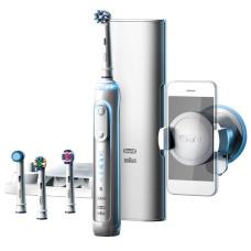 Электрические зубные щетки Oral-B - Зубная щетка Браун электрическая Braun Oral-B Genius 9000 (D701.545.6XC)