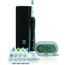 Электрические зубные щетки Oral-B - Oral-B Орал-Би Зубная щетка Black Pro Блэк Про 7000 D36.555.6X Черная