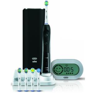 Oral-B Орал-Би Зубная щетка Black Pro Блэк Про 7000 D36.555.6X Черная