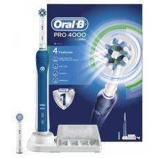 Электрические зубные щетки Oral-B - Oral-B Орал-Би Зубная щетка Pro 4000, blue Про 4000 блю, синяя