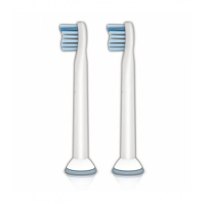 Электрические зубные щетки Philips - Philips Филипс чистящая головка Sensitive Сенситив для электрических звуковых зубных щёток мини-размер HX6082/07