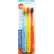 Набор зубных щеток Curaprox UltraSoft CS 5460 (3 щетки) фото 1