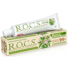 R.O.C.S. РОКС - ROCS (РОКС) Зубная паста Бионика, 74 гр