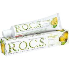 Зубные пасты Rocs - ROCS (РОКС) Зубная паста Мята и Лимон, 74 гр