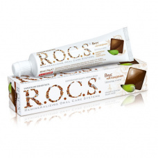 Зубные пасты Rocs - ROCS (РОКС) Зубная паста Вкус наслаждения. Шоколад и Мята, 74 гр