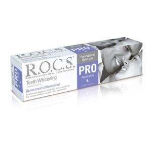 ROCS PRO РОКС ПРО Зубная паста Electro & Whitening Mild Mint Электро энд Вайтенинг Милд Минт, 135 гр