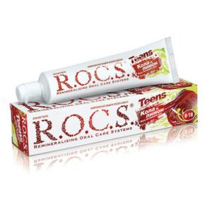 ROCS РОКС Зубная паста Teens Тинс (для школьников от 8 до 18 лет), 74 гр