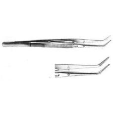 Пинцет стоматологический с фиксатором 15 мм Медента 111329