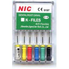 Эндодонтия - K-Files К-файлы NIC НИК