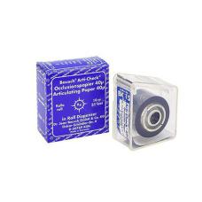 ВК15 артикуляционная бумага BAUSCH Бауш 22мм х 10м, синяя,40мкм, в раздаточном устройстве 111525