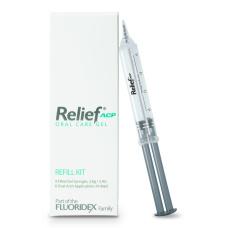 Отбеливание зубов - Relief Gel Релиф гель после отбеливания (4 шпр. по 2,4г)