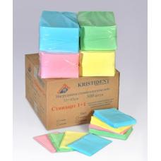 Одноразовые расходные материалы - Салфетки нагрудные «КРИСТИДЕНТ» Стандарт 1+1 (2-х слойный)
